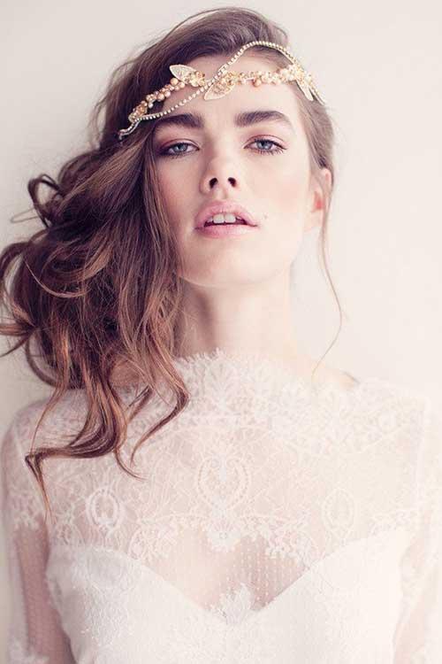Mejores peinados princesa para bodas