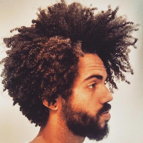 Side Afros