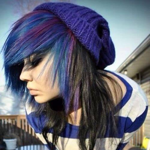 peinados emo para niñas
