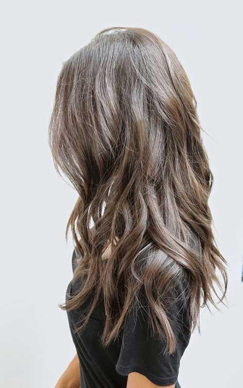 Cortar capas en largos peinados