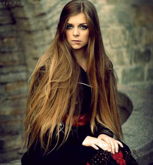 Peinados para niñas de pelo largo -13
