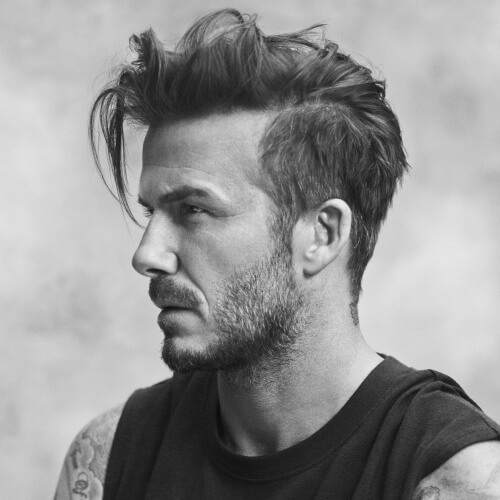 Desordenado David Beckham Peinados