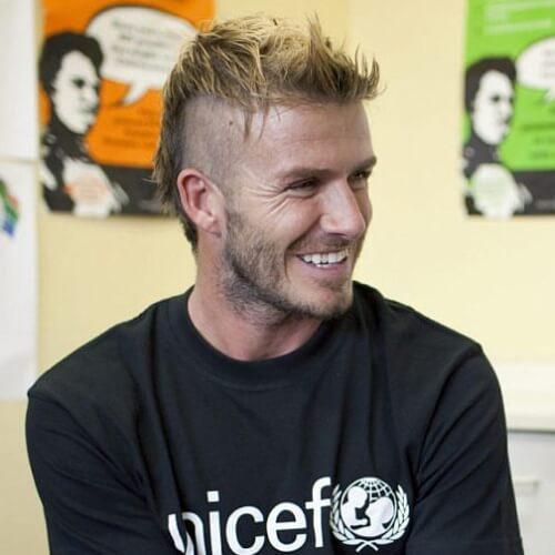 Mohawk David Beckham Peinados