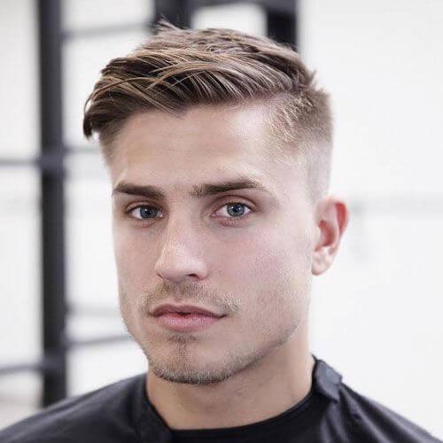 Cortes de pelo cortos para hombres para cabello fino