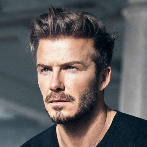 Side-arrojó David Beckham Peinados