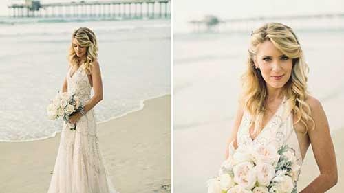Grandes peinados de boda de Long Beach para rubias