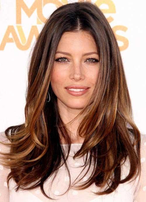 Peinados largos marrones oscuros-15