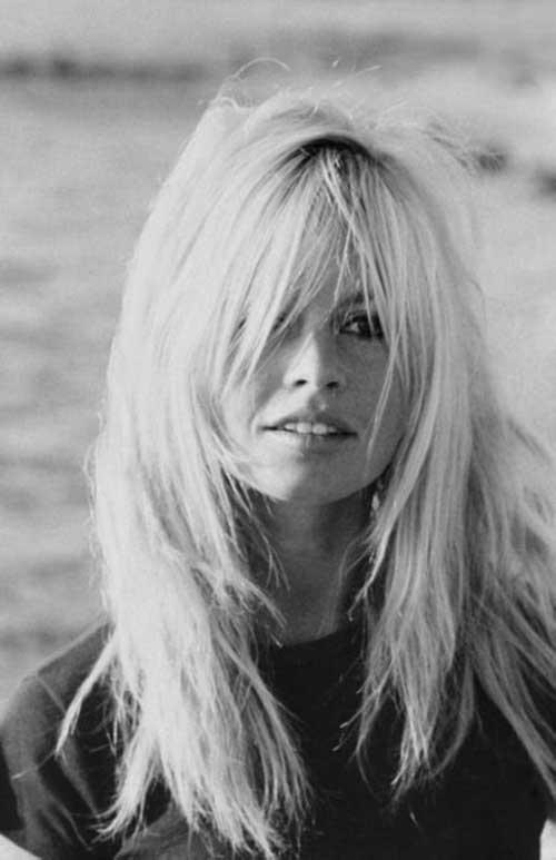 Cabello en capas Brigitte Bardot