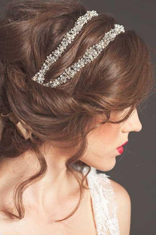 Magnífico mejor pelo de la boda