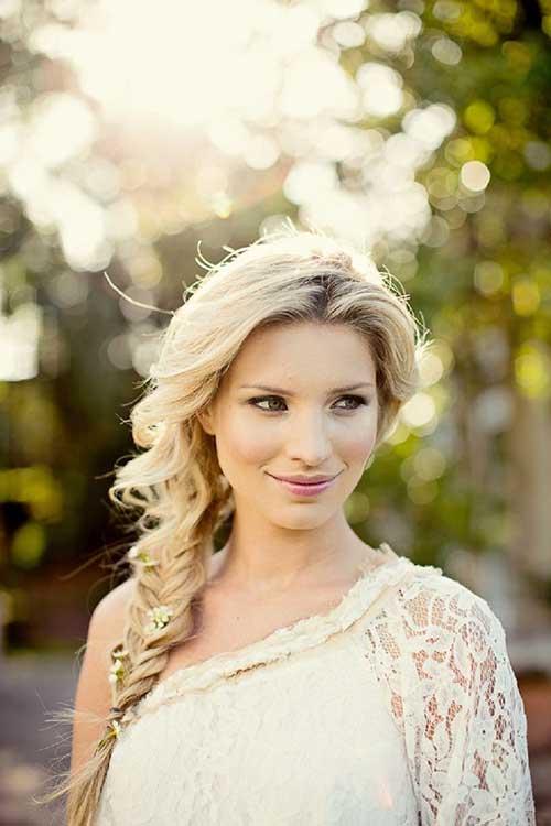 Las mejores imágenes de peinado Bohemia de la boda