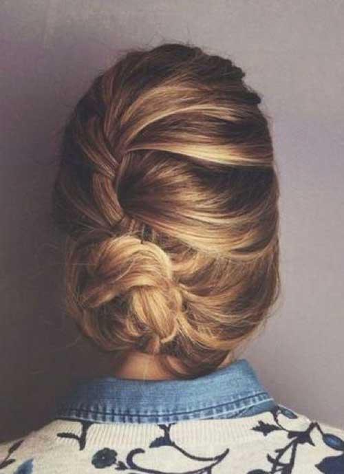 French Bun Hair-16