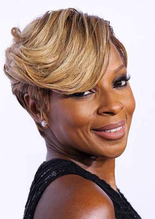 peinados cortos para mujeres negras 7