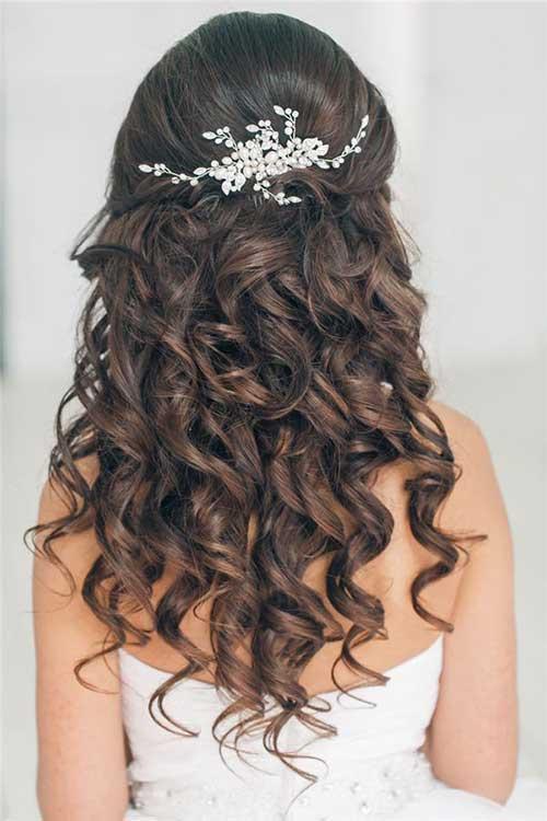 Mejores peinados de baile de pelo rizado