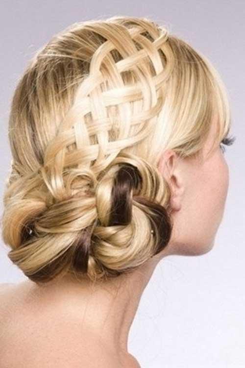 Bonitas tendencias de peinados de boda trenzados