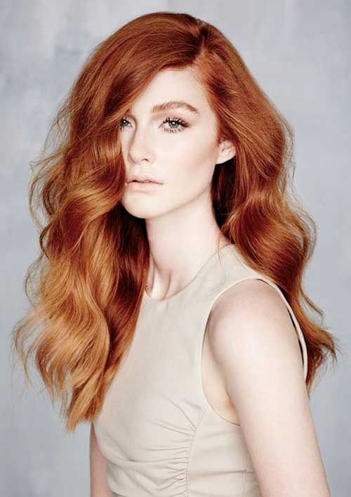Hair Red Color-23