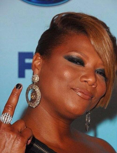 queen latifah peinados cortos para mujeres negras