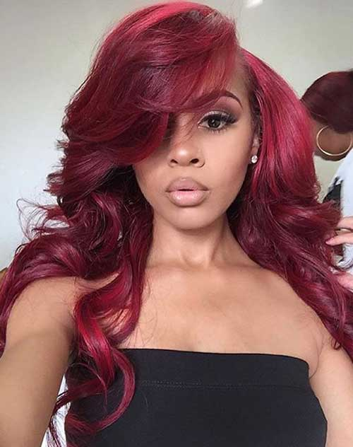 Hair Red Color-19