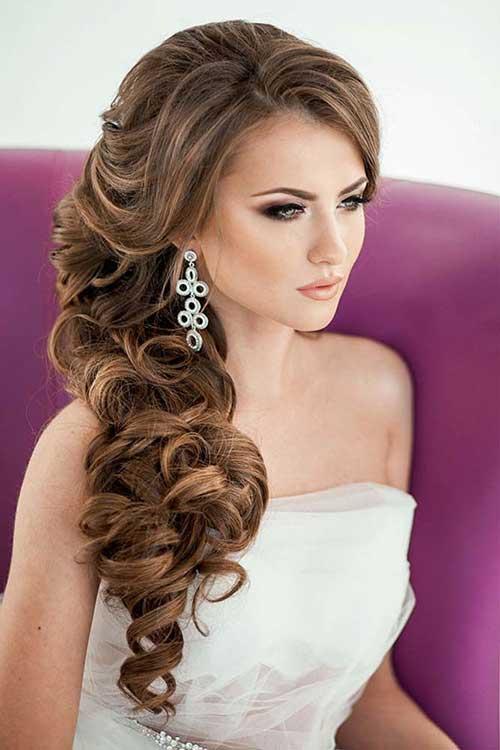 Estilos de cabello de la boda para cabello largo-11