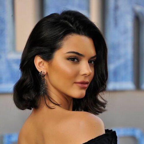 Kendall Jenner peinados de baile para el pelo corto