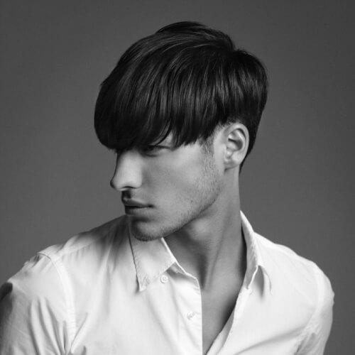 Tazón de  corte peinado