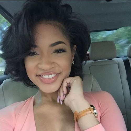 peinados bob de capas cortas para mujeres negras