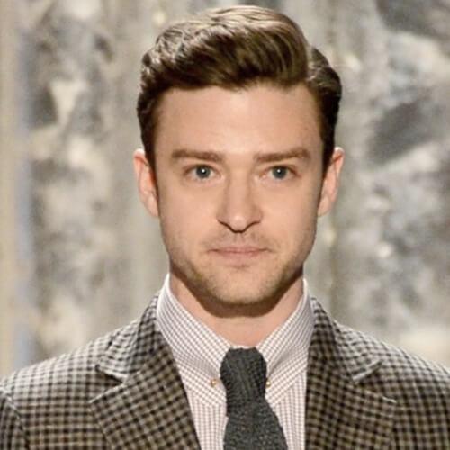 Ondulado Justin Timberlake peinados
