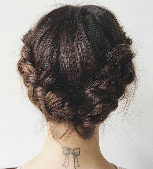 Estilos de cabello corto trenzado