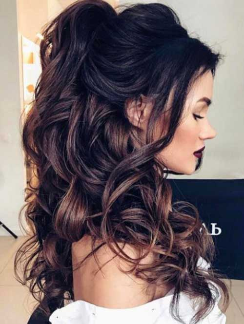 Peinados ondulados
