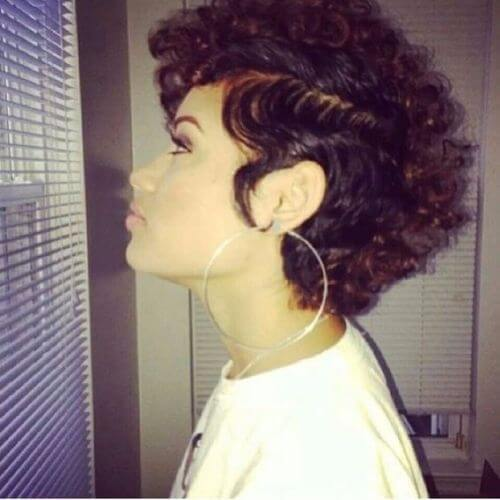 peinados naturales para el pelo corto