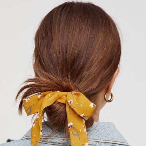bufanda cool peinados para niñas