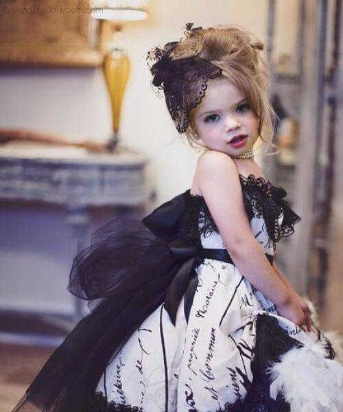 querida señorita peinados de niña