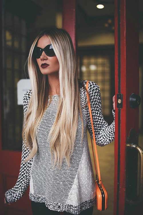 Peinado gris balayage
