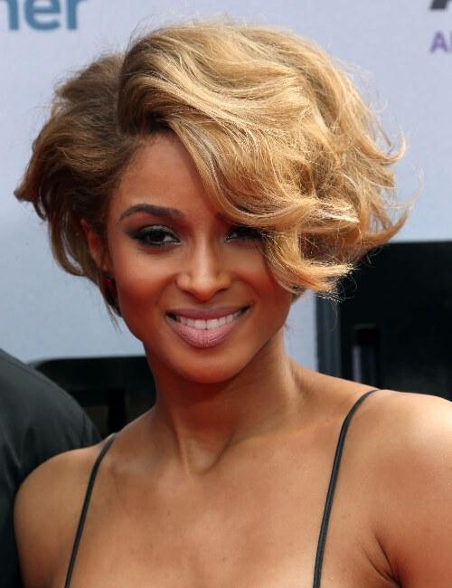 peinados cortos ciara para mujeres negras