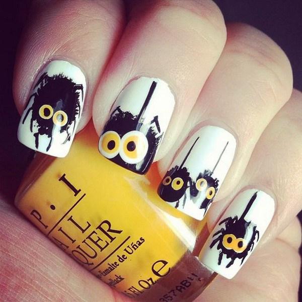 Diseños de uñas para Halloween. Ideas de arte de uñas de Halloween.