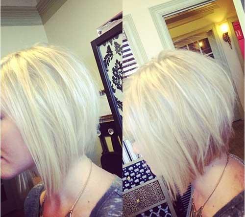 Cortes de pelo cortos rubios lindos para las mujeres