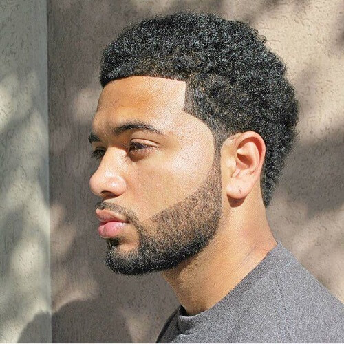 Line Up Afro Hairstyles para hombres
