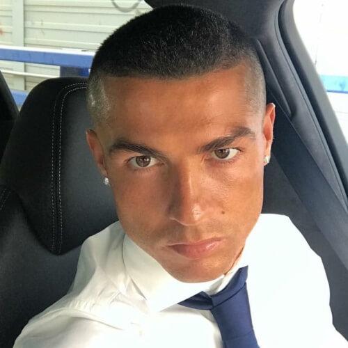 Buzz Cut Cristiano Ronaldo Peinados