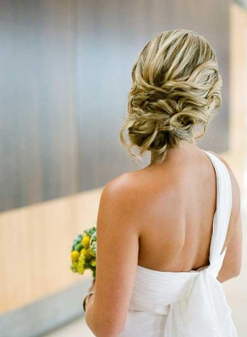 Destacó el Bung rubio para bodas peinados largos