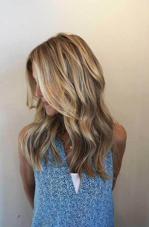 Ideas simples del pelo rubio y de color marrón