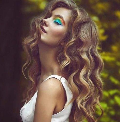 color de pelo boho balayage