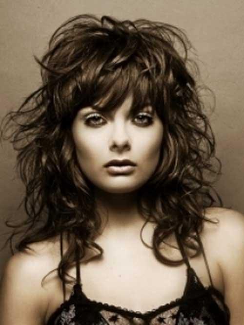 Mejores peinados ondulados ondulados para mujeres