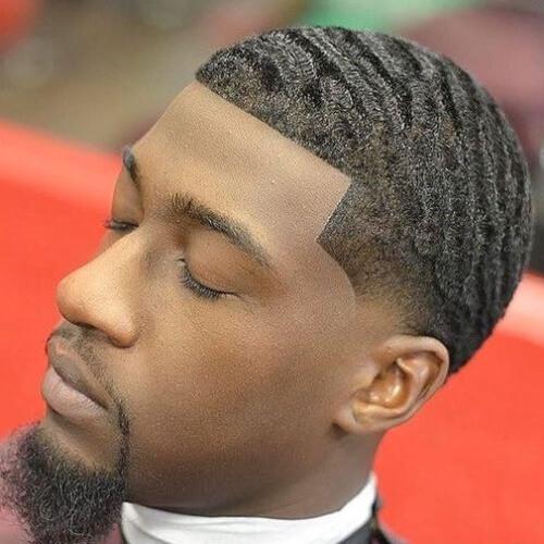 Corte de pelo profundo de las ondas