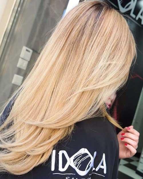 Cortes de pelo en forma de V