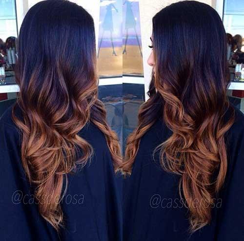 Peinados castaños oscuros largos-7