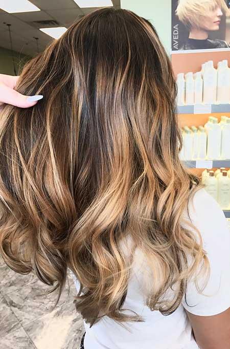 Brown Balayage Hair Caramel Balayage Hair Morena, Balayage