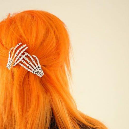 peinados de mandarina para cabello lacio