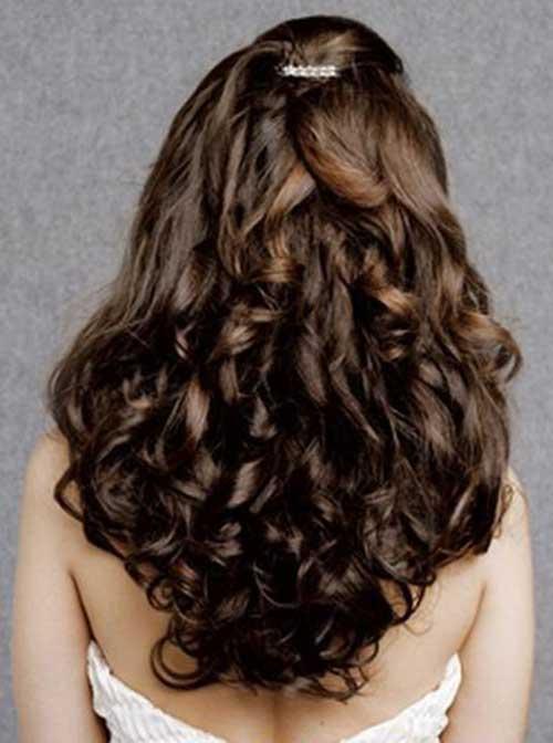 Peinados de fiesta para Curly Hair-6