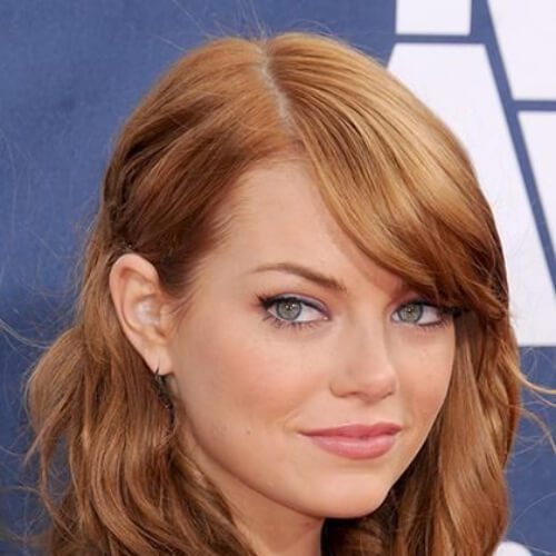 emma stone cool hairstyles para niñas