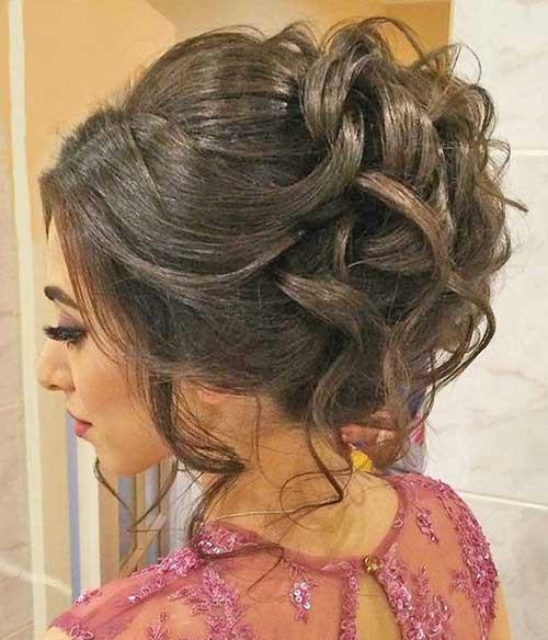 Bollos largos para el cabello