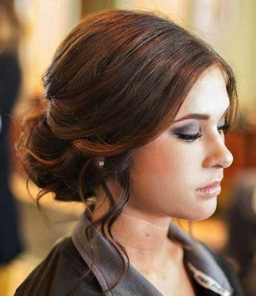Estilos de cabello de la boda para cabello largo-15